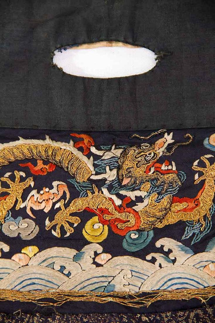 DRAGON EMBROIDERED SKIRT, CHINA, 19TH C - 4