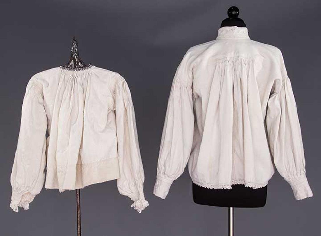 TWO EMBROIDERED REGIONAL BLOUSES, TRANSYLVANIA - 2