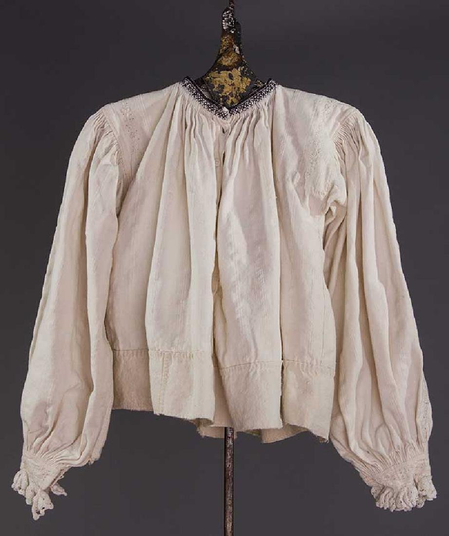 TWO EMBROIDERED REGIONAL BLOUSES, TRANSYLVANIA - 4