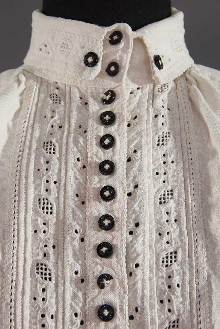 TWO EMBROIDERED REGIONAL BLOUSES, TRANSYLVANIA - 5