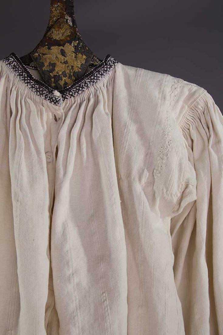 TWO EMBROIDERED REGIONAL BLOUSES, TRANSYLVANIA - 7