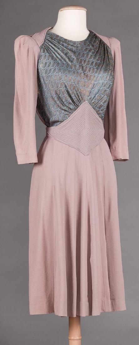 3  DAY DRESSES, 1940s - 4