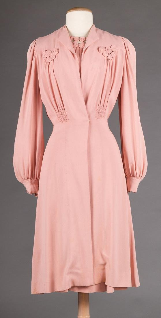 3  DAY DRESSES, 1940s - 9
