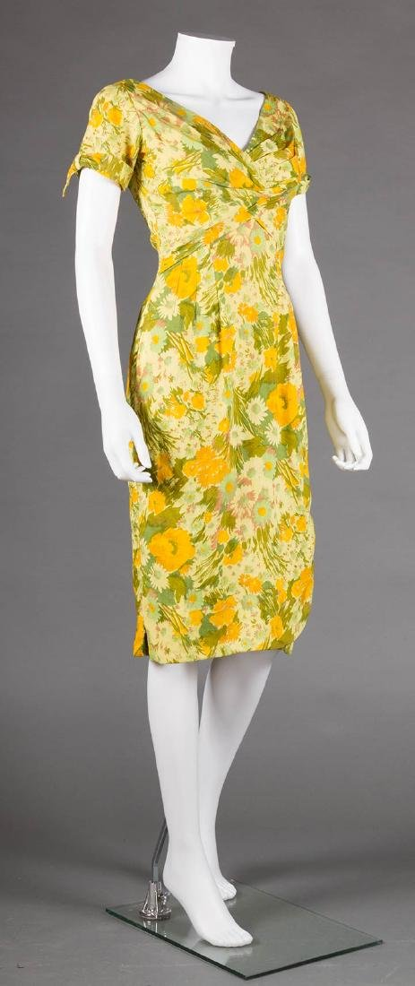 TWO EVENING DRESSES, c. 1960 - 4
