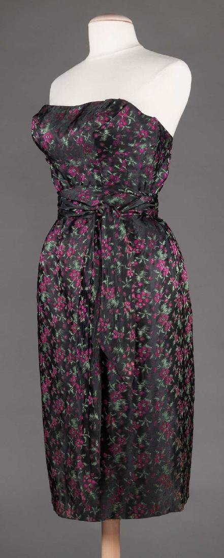 TWO EVENING DRESSES, c. 1960 - 7