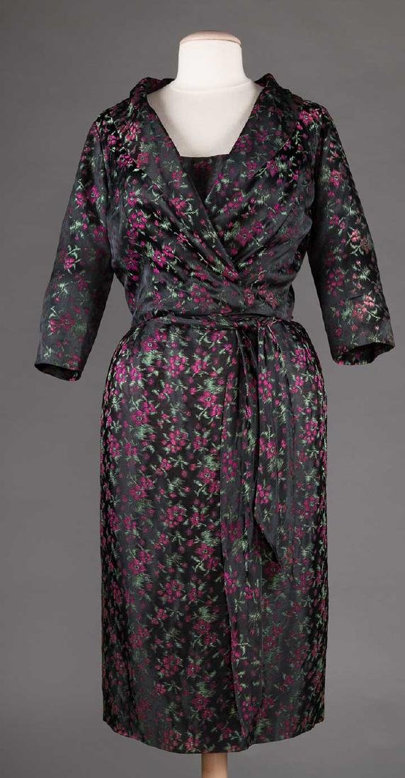 TWO EVENING DRESSES, c. 1960 - 8