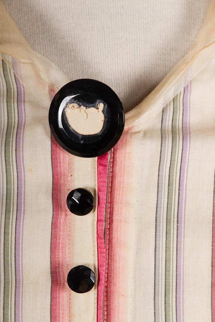 RIBBON CANDY STRIPED DRESS, 1910 - 6