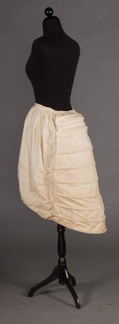 LOBSTER TAIL BUSTLE, 1870-1880 - 2