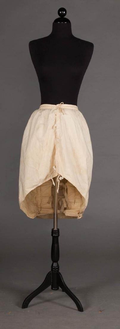 LOBSTER TAIL BUSTLE, 1870-1880 - 7