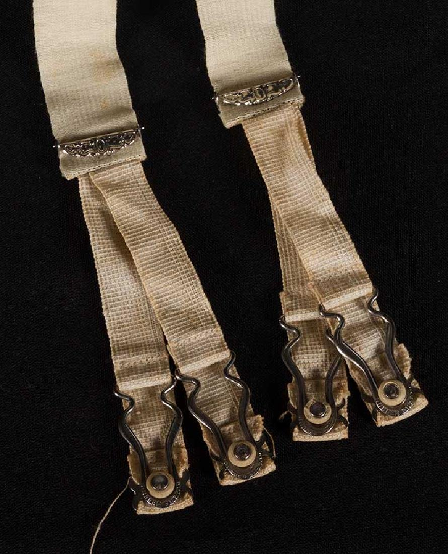 4 WHITE GIRLS CORSETS, EARLY 20th C - 8