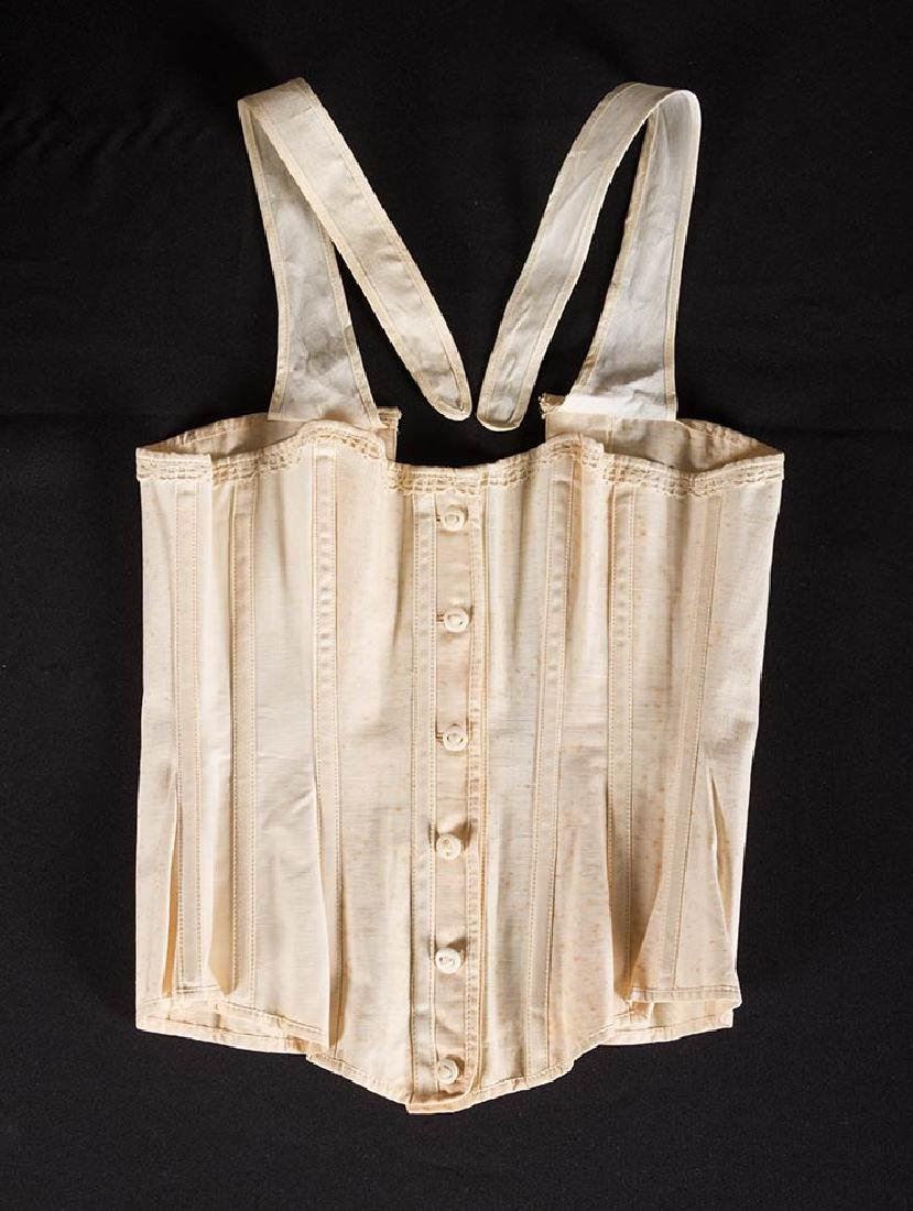 YOUNG LADY STAYS & 3 CORSETS, 19th C. - 9