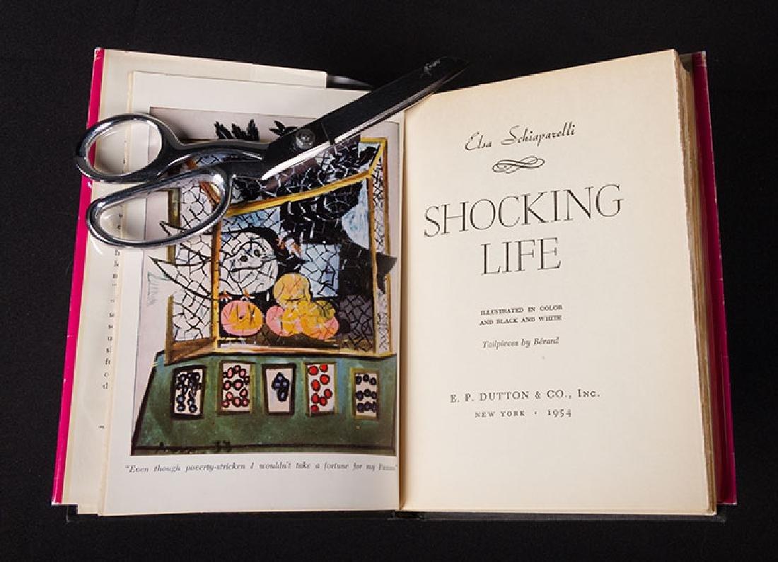 """SHOCKING LIFE"", ELSA SCHIAPARELLI, 1st EDITION, 1954"