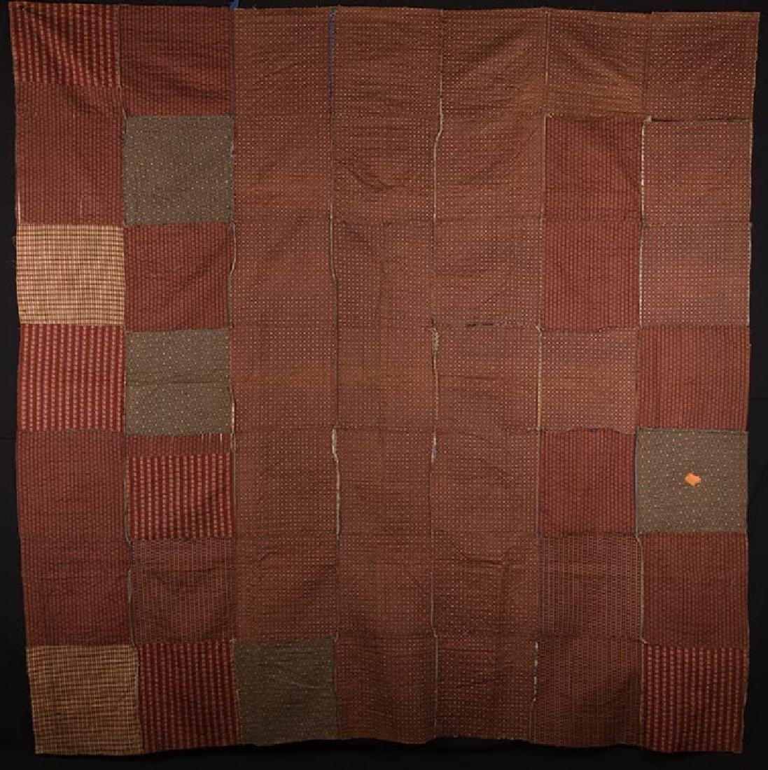 2 19th C. LOG CABIN QUILTS - 5