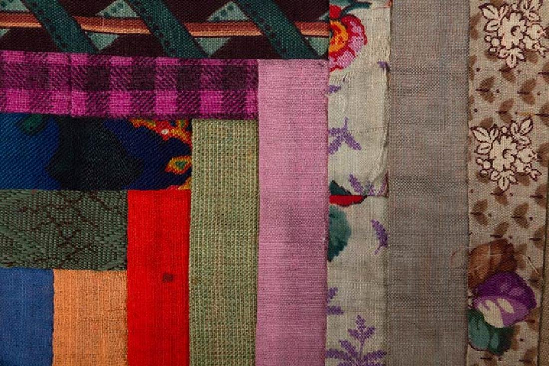 2 19th C. LOG CABIN QUILTS - 9
