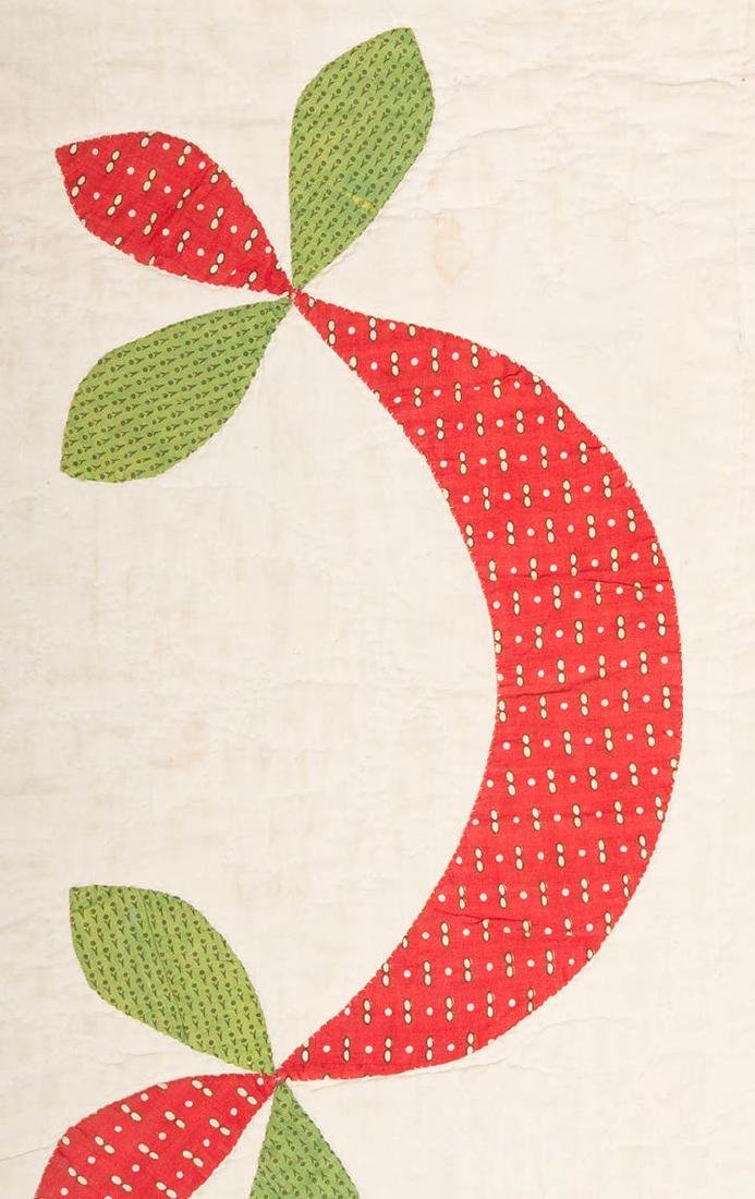 ROSE OF SHARON QUILT, 1860-1880 - 6