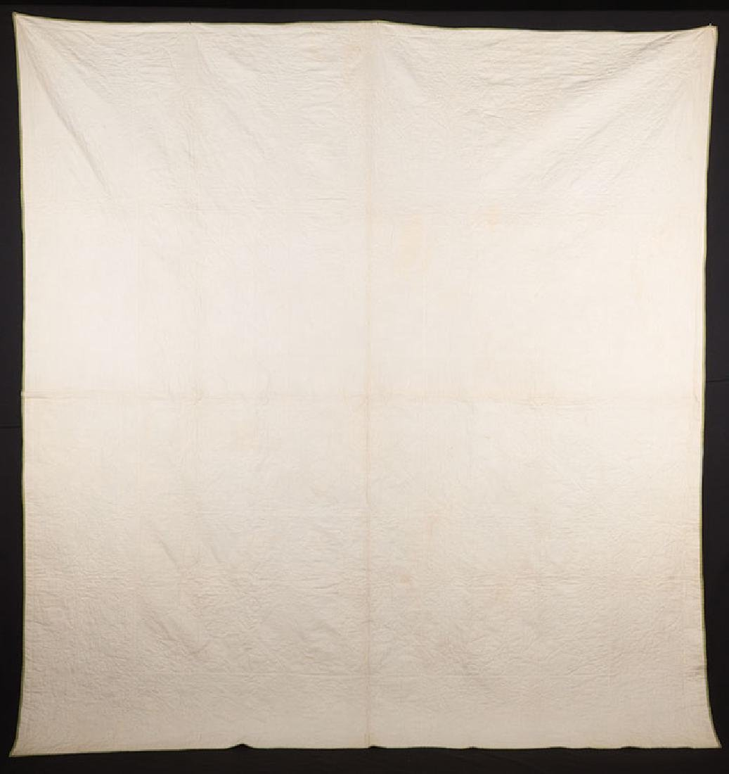 ROSE OF SHARON QUILT, 1860-1880 - 7
