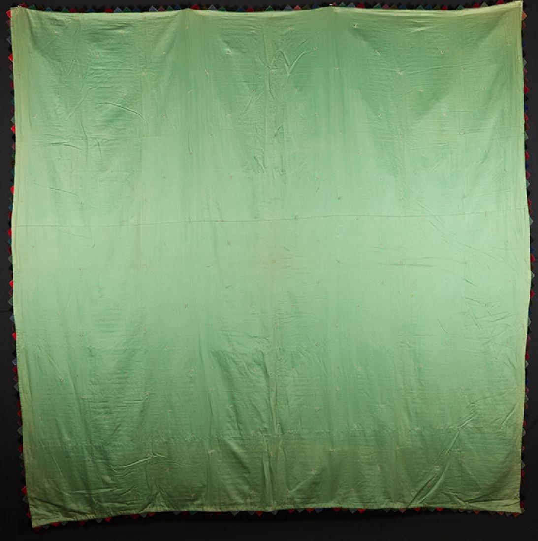 LOG CABIN QUILT, 1880-1900 - 8
