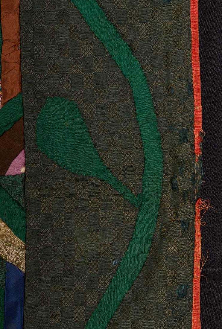 LARGE LOG CABIN QUILT, c. 1905 - 4