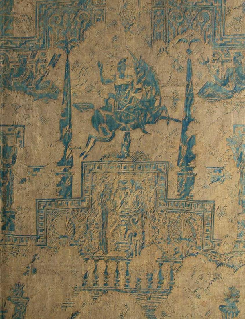 """LARGE FORTUNY PANEL, """"OBELISCO"""", ITALY, EARLY 20th C. - 2"""