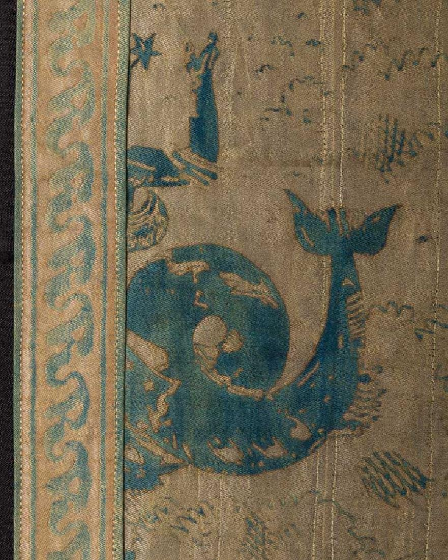 """LARGE FORTUNY PANEL, """"OBELISCO"""", ITALY, EARLY 20th C. - 4"""