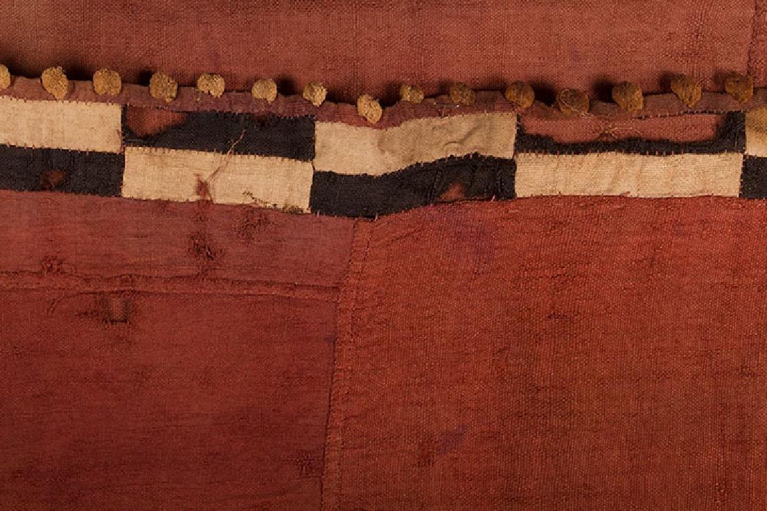 4 KUBA CLOTHS, 20TH C. - 10