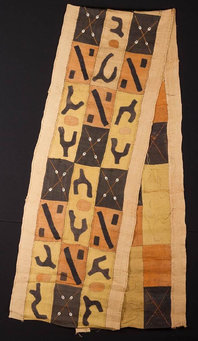 4 KUBA CLOTHS, 20TH C. - 2
