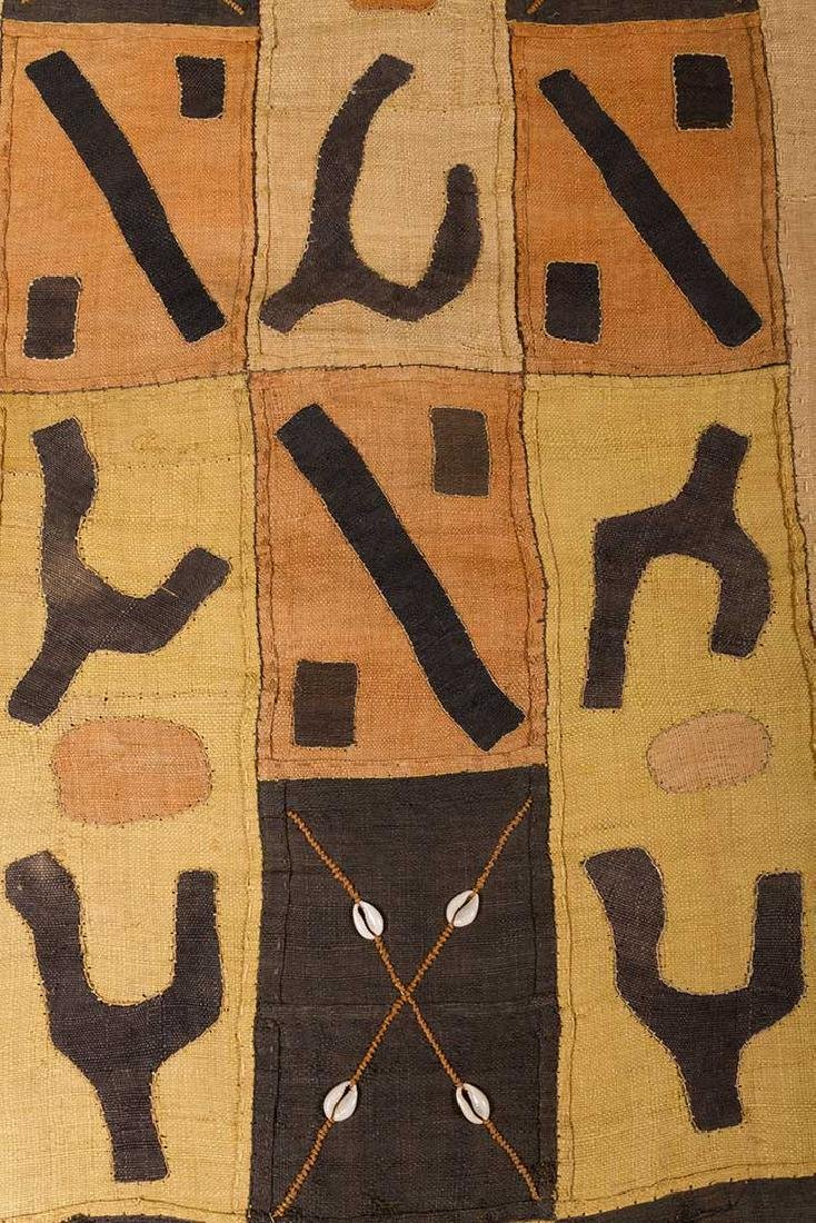 4 KUBA CLOTHS, 20TH C. - 3