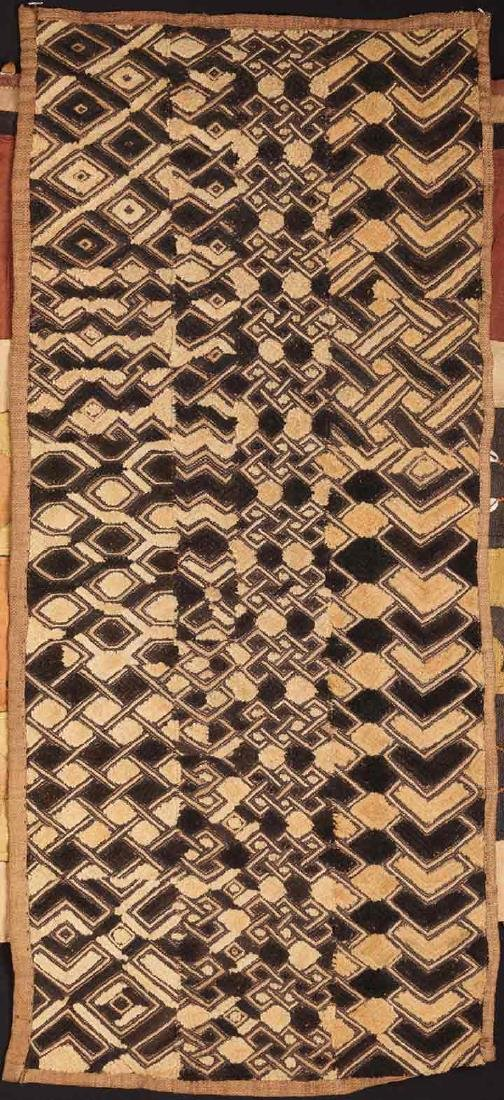 4 KUBA CLOTHS, 20TH C. - 5
