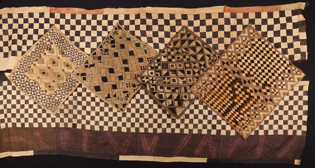 6 AFRICAN TEXTILES, 20th C.