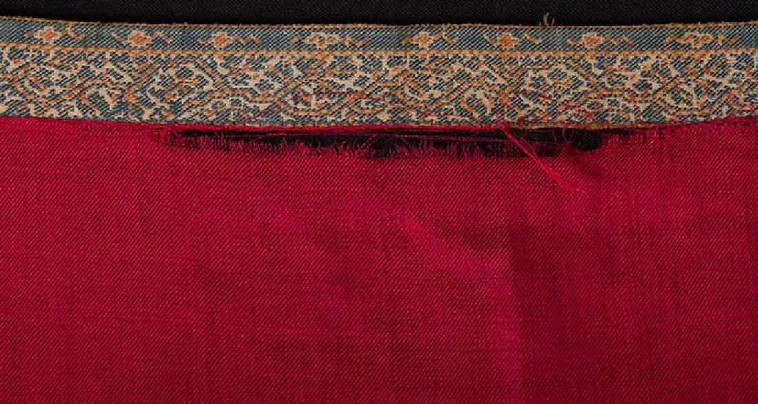 JACQUARD PAISLEY STOLE, EARLY 19th C. - 5