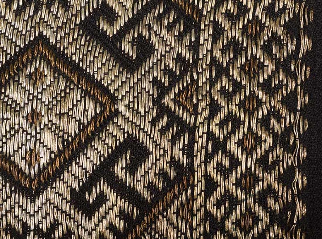6 ETHNIC EMBROIDERED TEXTILES, 19th C. - 3