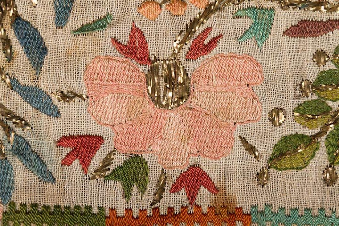 6 ETHNIC EMBROIDERED TEXTILES, 19th C. - 6