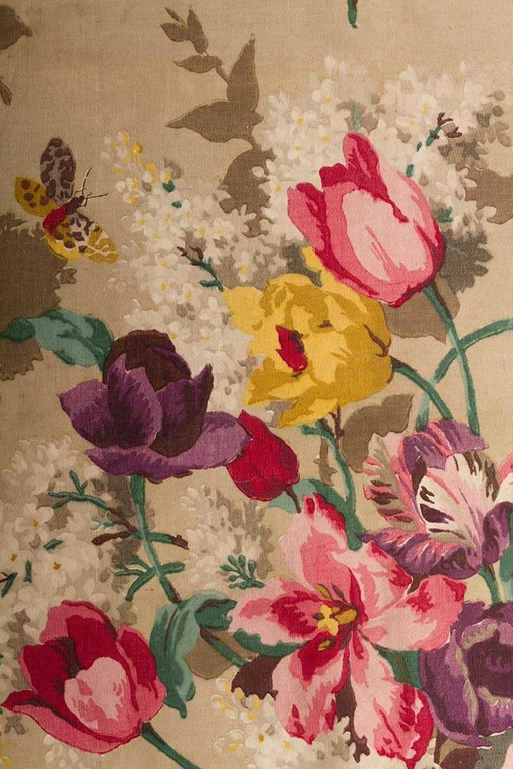 FLORAL FURNISHINGS FABRIC, LIBERTY, LONDON, 1930s