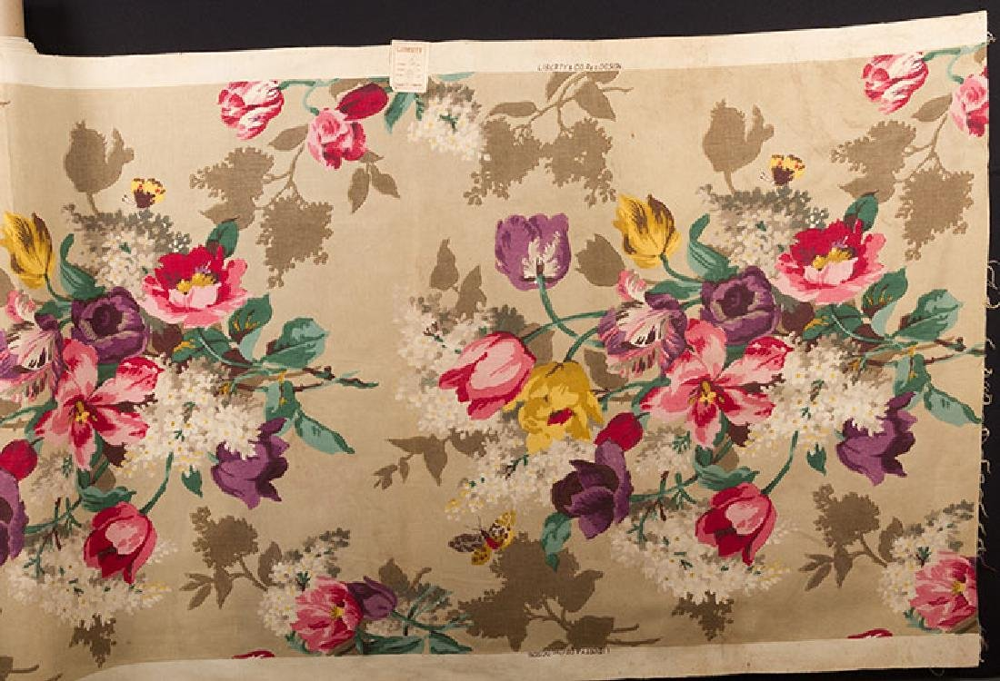 FLORAL FURNISHINGS FABRIC, LIBERTY, LONDON, 1930s - 2