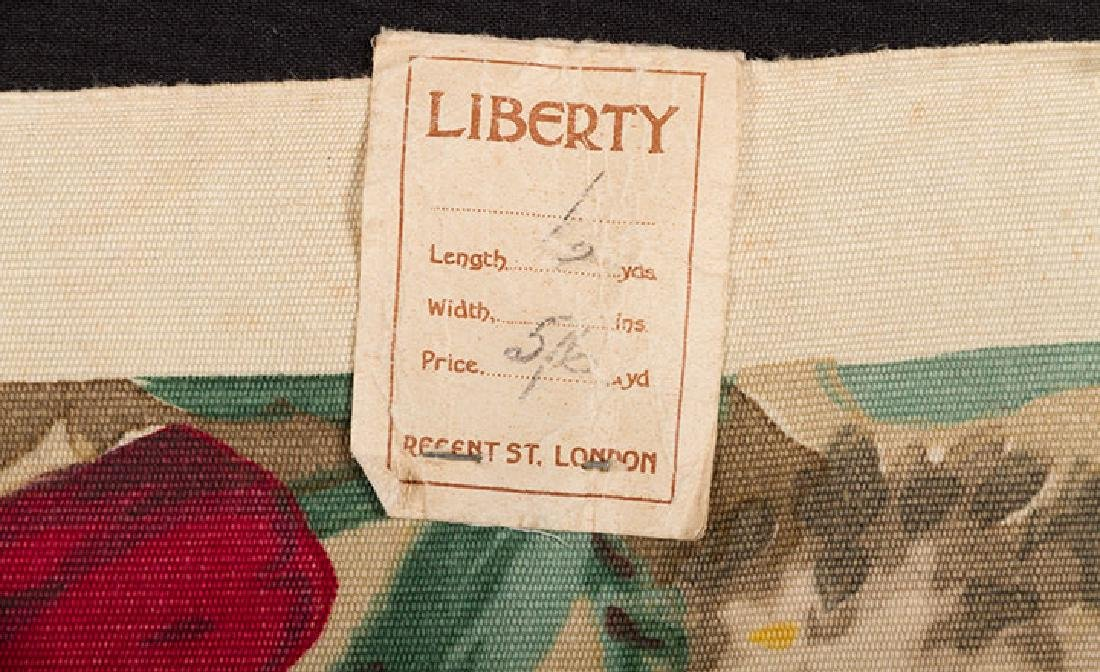 FLORAL FURNISHINGS FABRIC, LIBERTY, LONDON, 1930s - 4