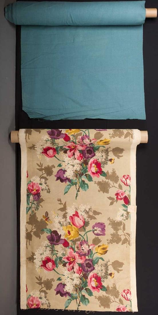 FLORAL FURNISHINGS FABRIC, LIBERTY, LONDON, 1930s - 5