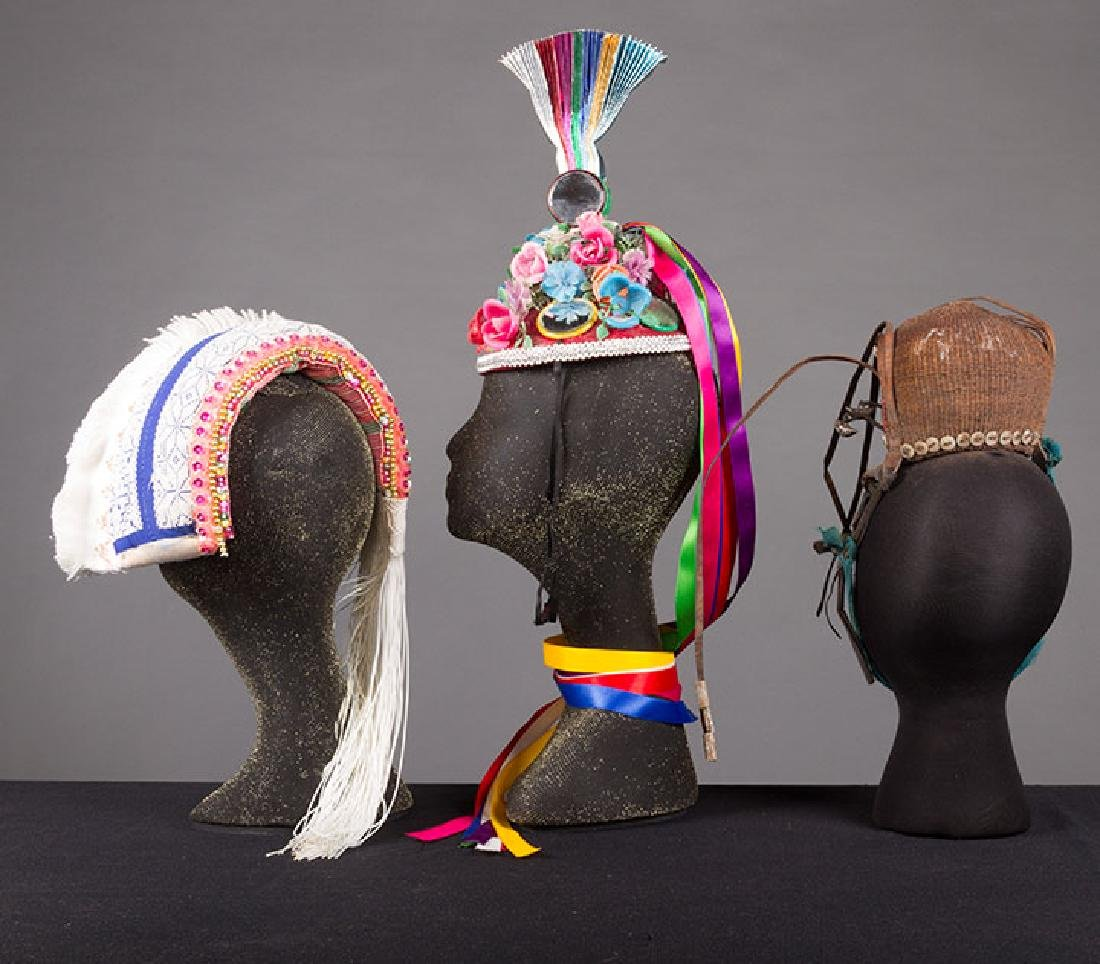 LOT OF FIFTEEN HATS, 19th & 20th C - 7