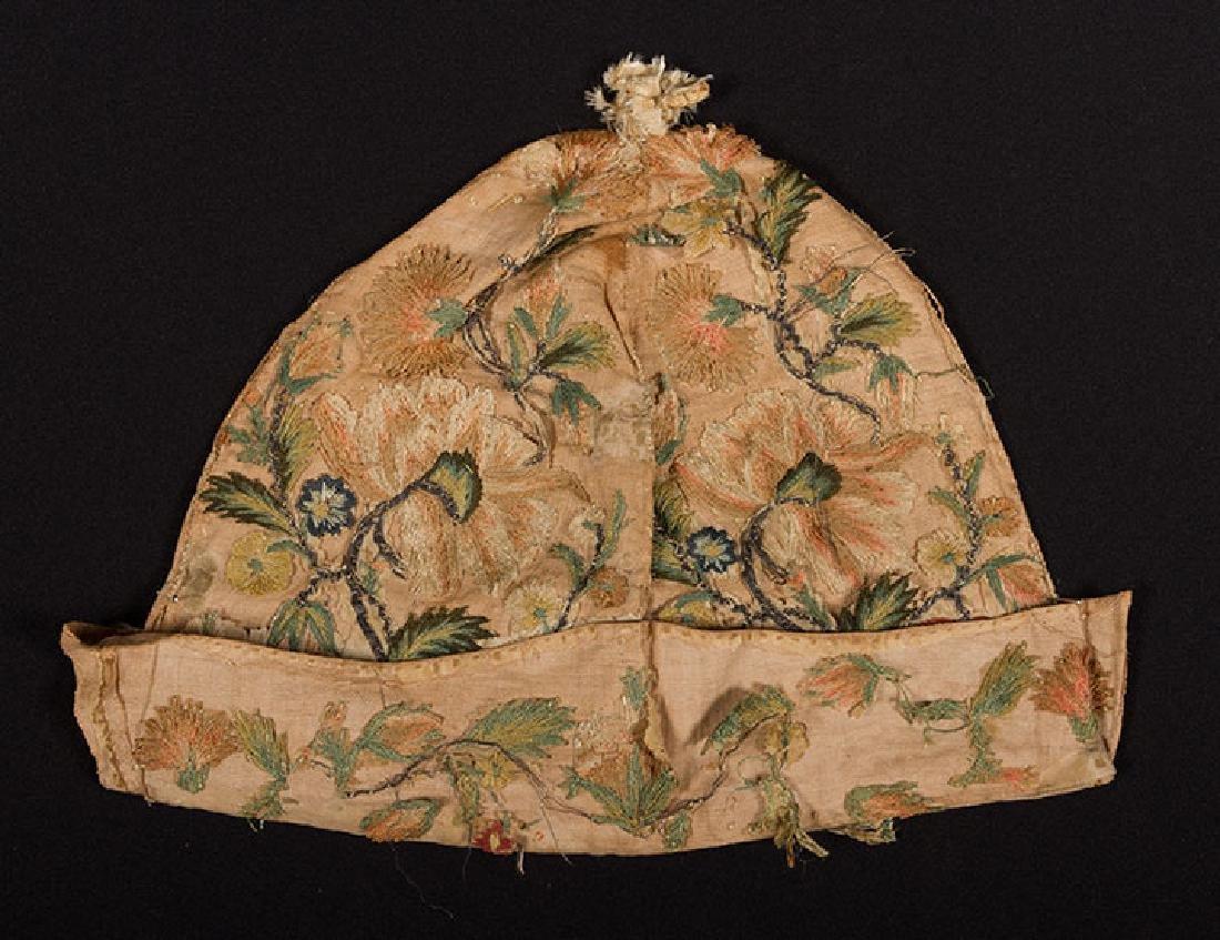 MAN's AT-HOME CAP, c. 1620 - 2
