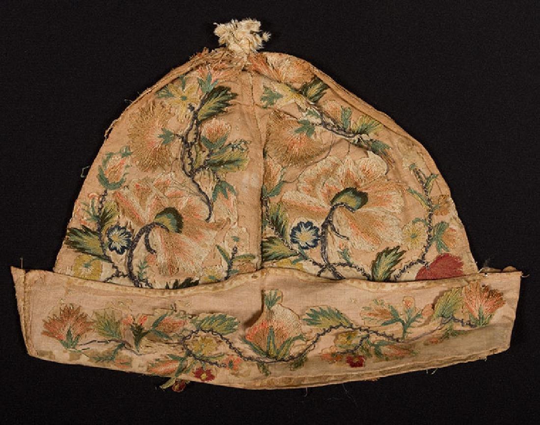 MAN's AT-HOME CAP, c. 1620 - 4