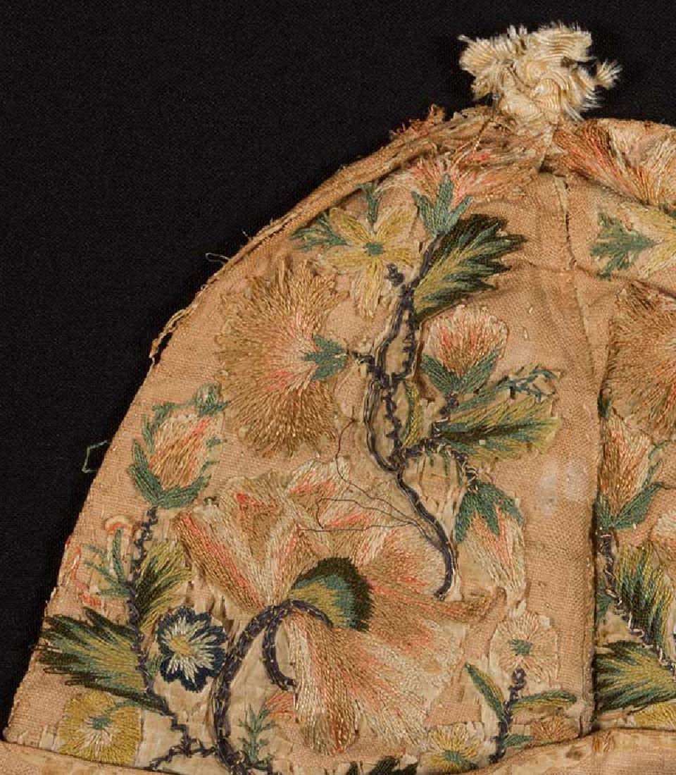 MAN's AT-HOME CAP, c. 1620 - 5