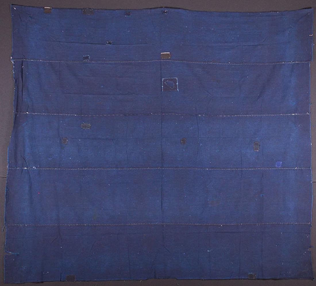 TWO INDIGO BORO QUILTS, JAPAN, LATE 19th C. - 7