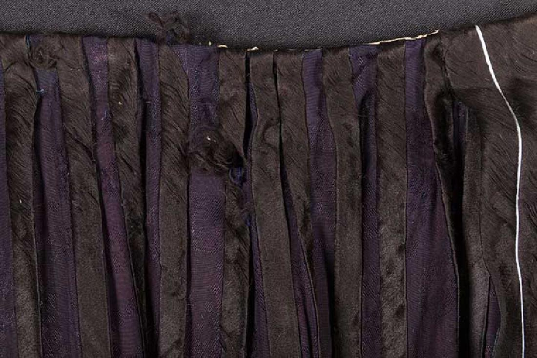 TWO EMBROIDERED SILK SKIRTS, CHINA, 1880-1920 - 4