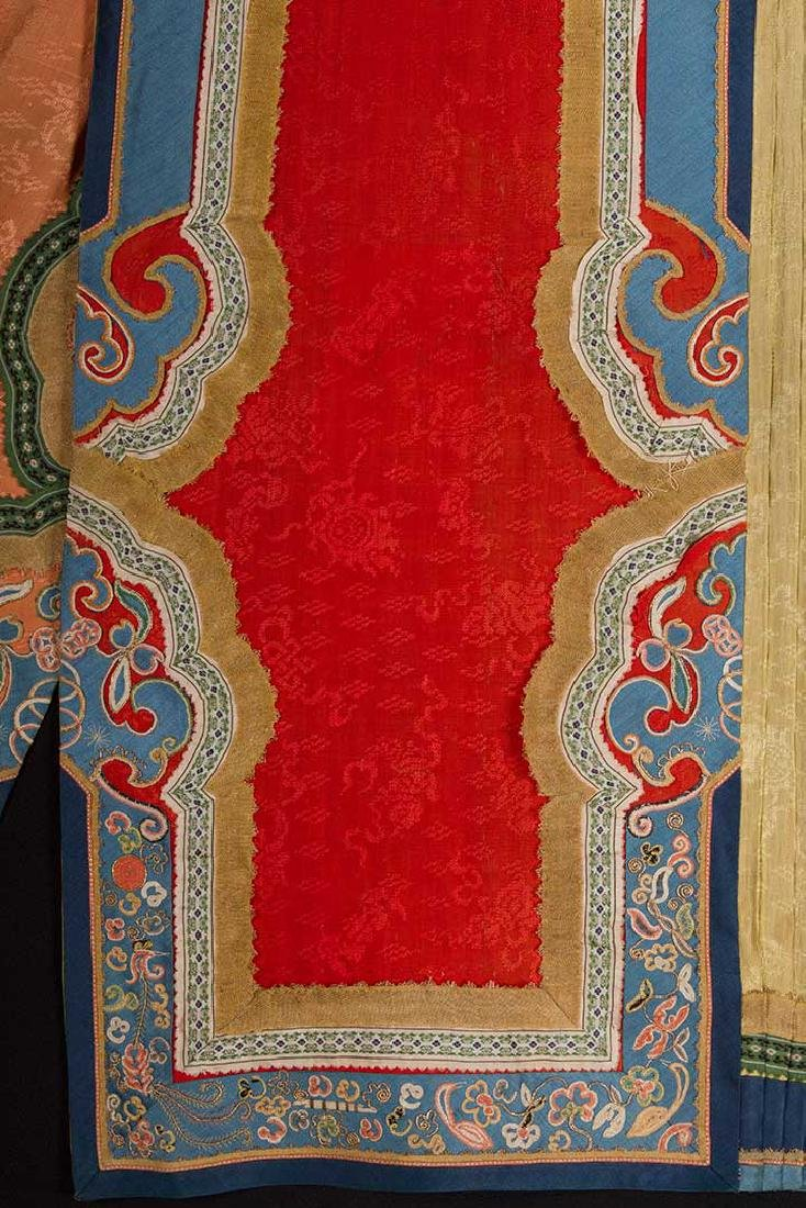 TWO EMBROIDERED SILK SKIRTS, CHINA, 1880-1920 - 7