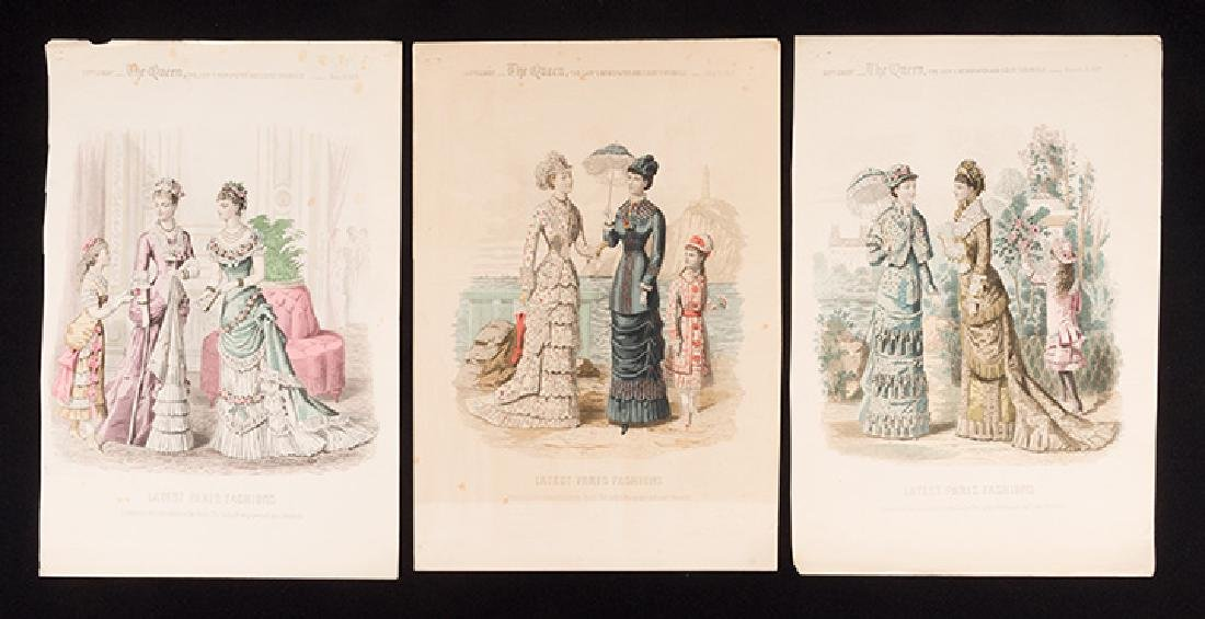 31 FASHION PLATES, 1830 - 1900 - 2