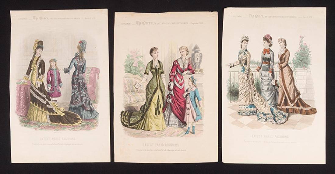 31 FASHION PLATES, 1830 - 1900 - 4
