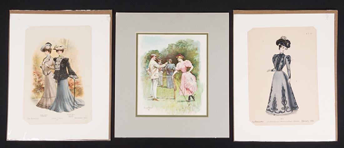 31 FASHION PLATES, 1830 - 1900 - 5