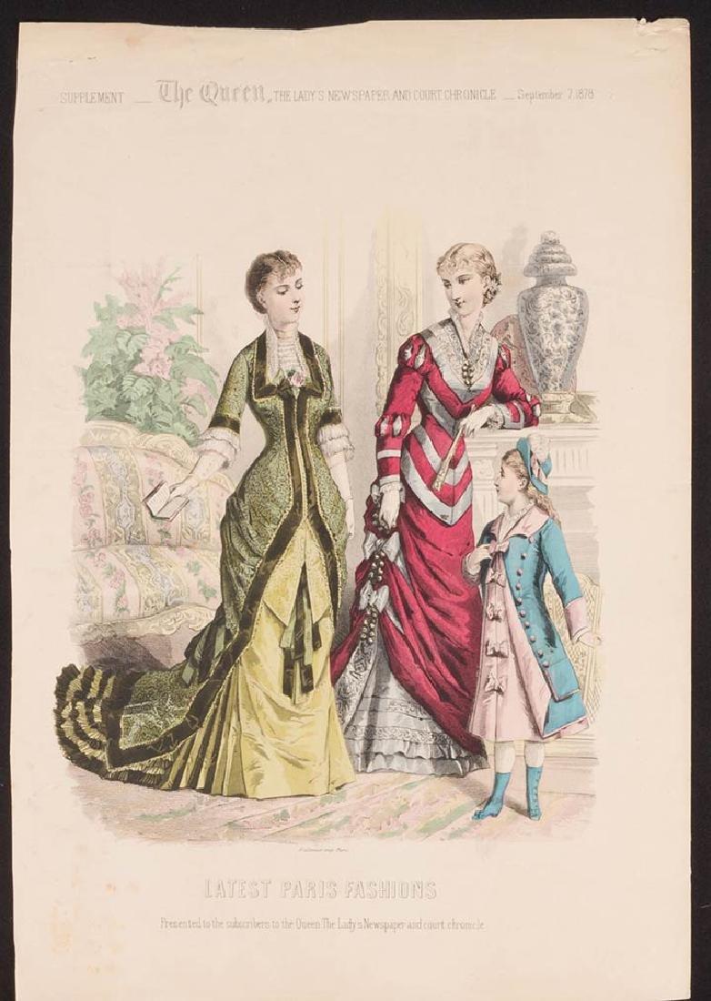 31 FASHION PLATES, 1830 - 1900 - 6