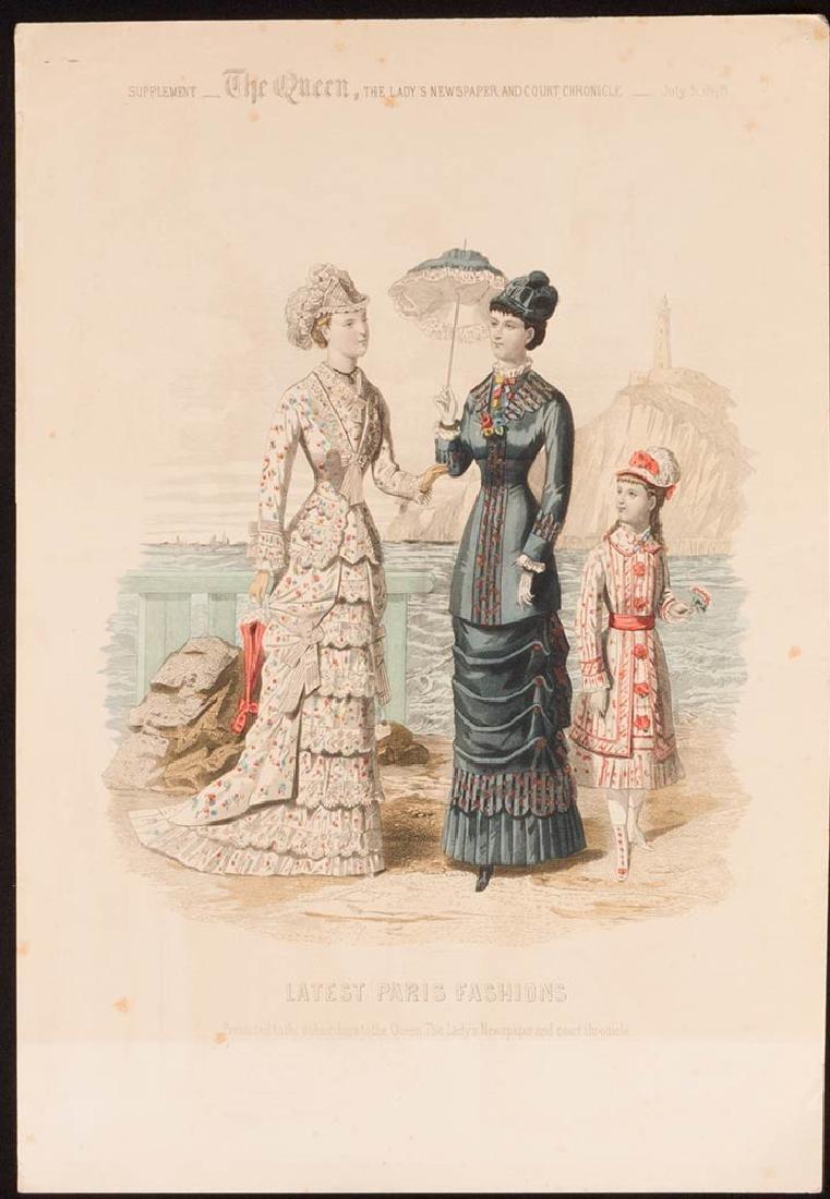 31 FASHION PLATES, 1830 - 1900 - 8