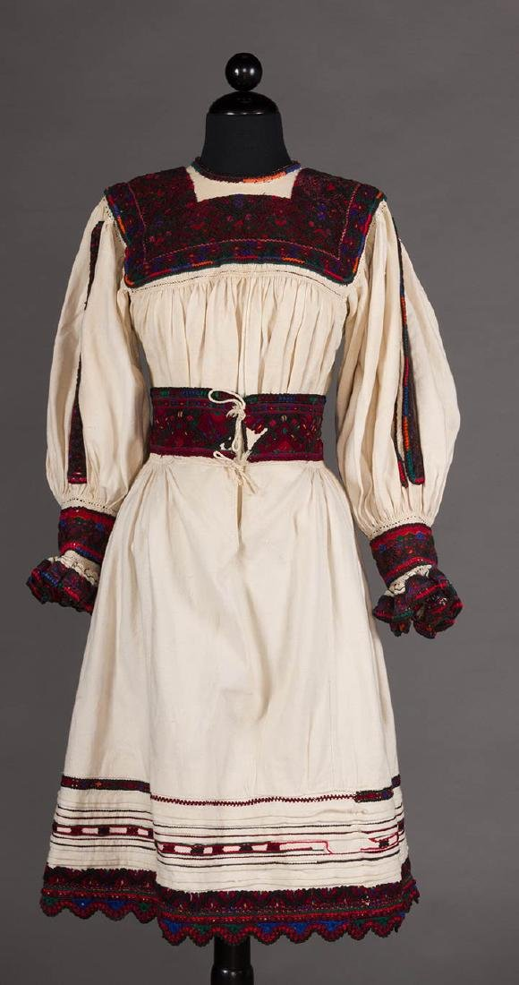REGIONAL DRESS, EASTERN EUROPE, EARLY 20TH C.