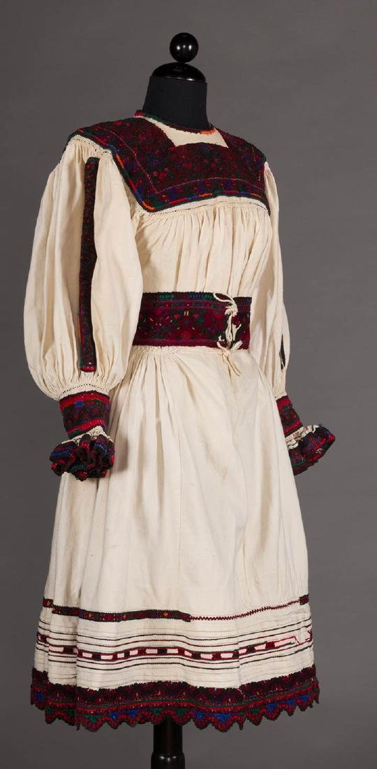 REGIONAL DRESS, EASTERN EUROPE, EARLY 20TH C. - 2